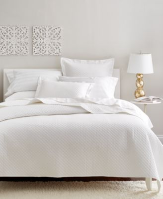 Cotton 2-Pc Quilted Twin Coverlet, Created for Macy's
