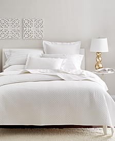 Cotton 3-Pc Quilted Full/Queen Coverlet, Created for Macy's
