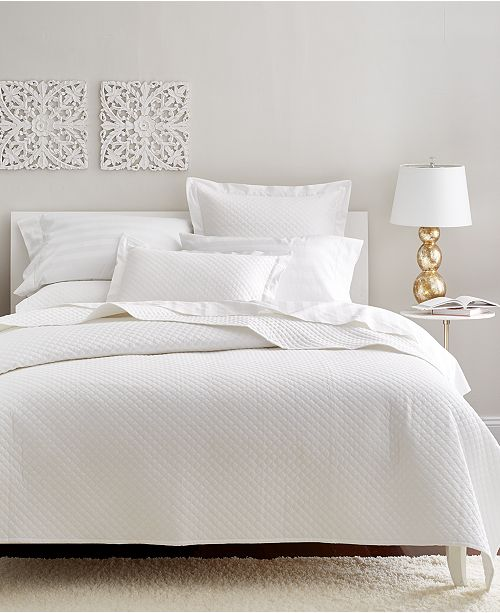 Charter Club Cotton 2-Pc Quilted Twin Coverlet, Created for Macy's