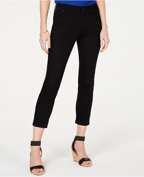 INC International Concepts I.N.C. Cropped Skinny-Leg Jeans, Created for Macy's