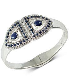 Lucky Brand Silver-Tone Stone & Imitation Pearl Cuff Bracelet