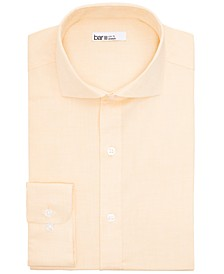 Men's Slim-Fit Performance Stretch Solid Dress Shirt, Created for Macy's