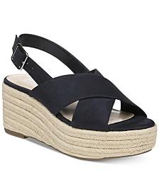 Bar III Bianka Wedge Sandals, Created for Macy's