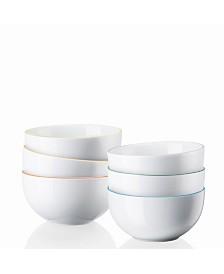 Rosenthal Cucina Basic Colori Bowl Set/6
