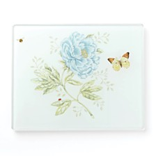 Lenox Butterfly Meadow Kitchen Small Glass Food Board, Created for Macy's