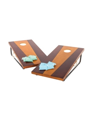 2′ x 4′ Bean Bag Toss Game Includes 2 Premium All-Wood Bean Bag Toss Boards and 8 All-Weather Canvas Bean Bags