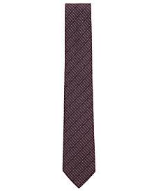 BOSS Men's Patterned Silk Tie