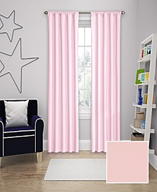 """Microfiber Thermaback Kids Blackout 42"""" x 63"""" Curtain Panel"""