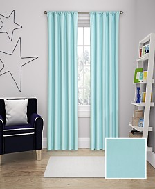 """Eclipse Microfiber Thermaback Kids Blackout 42"""" x 84"""" Curtain Panel"""
