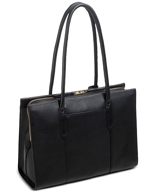 Arlington Leather Court Multi Compartment Work Bag