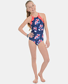 Tommy Hilfiger Big Girls 1-Pc. Piper Swimsuit