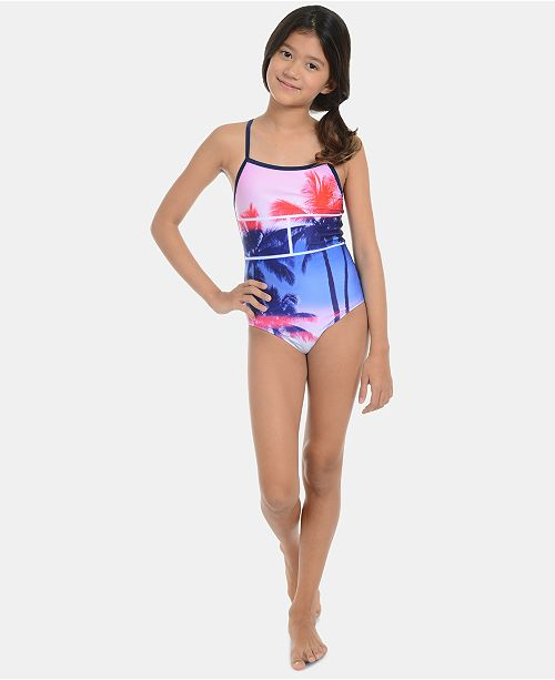 Tommy Hilfiger Big Girls Reini Swimsuit