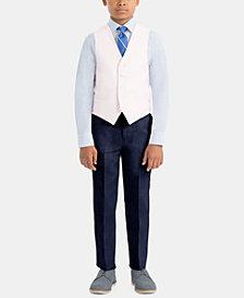 Lauren Ralph Lauren Little & Big Boys Special Occasion Linen Vest & Pants Separates