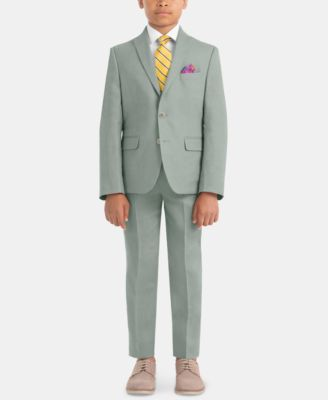 Big Boys Straight-Leg Linen Pants