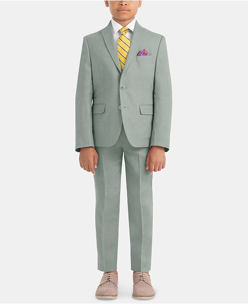 Lauren Ralph Lauren Little & Big Boys Fresh Linen Suit Jacket & Pants Separates