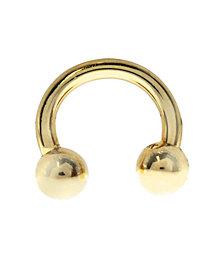 Bodifine 9 Carat Gold Eyebrow Ring