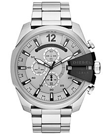 Men's Chronograph Mega Chief Stainless Steel Bracelet Watch 51mm