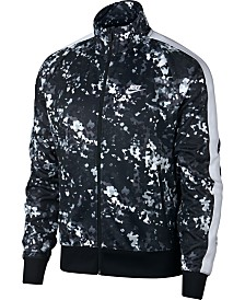 Nike Men's Sportswear Printed Track Jacket
