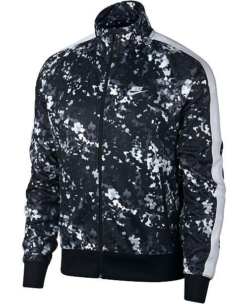 Nike Men's Sportswear Printed Track Jacket & Reviews