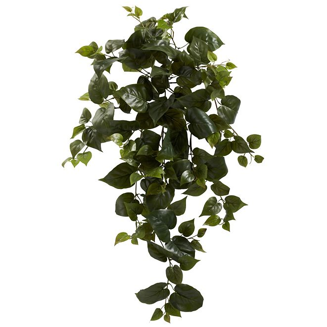 "Nearly Natural 34"" Philo Hanging Artificial Plant, Set of 3"