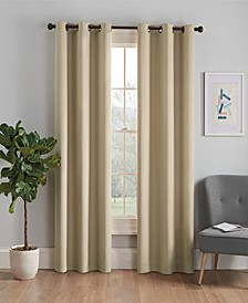 "Microfiber Thermaback Blackout 42"" x 95"" Curtain Panel"