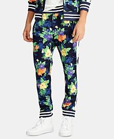 Polo Ralph Lauren Men's Tropical-Print Cotton Jogger Pants