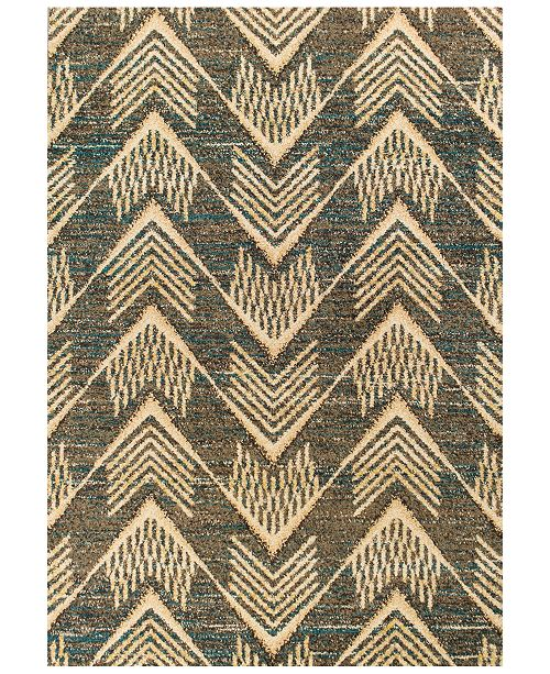 "Kas CLOSEOUT! Barcelona Ravello 4479 Grey 7'10"" x 11'2"" Area Rug"