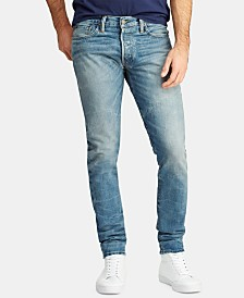 Polo Ralph Lauren Men's Sullivan Slim Faded Jeans