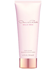 Oscar de la Renta Bella Rosa Body Lotion, 6.7-oz.