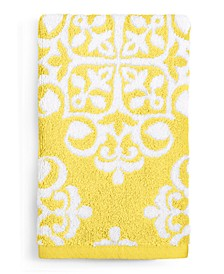 Elite Fashion Medallion Cotton Hand Towel, Created for Macy's