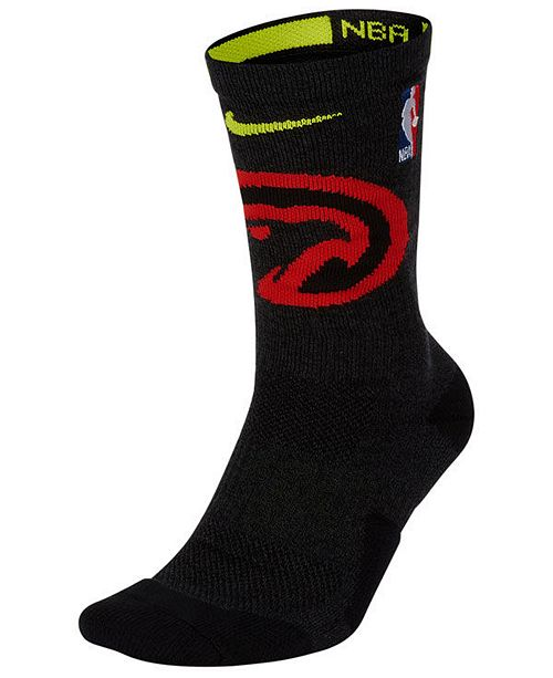 Nike Men's Atlanta Hawks Elite Team Crew Socks