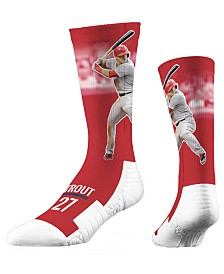 Strideline Mike Trout Full Sublimation Crew Socks