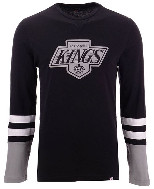 Majestic Men's Los Angeles Kings 5 Minute Major Long Sleeve T-Shirt