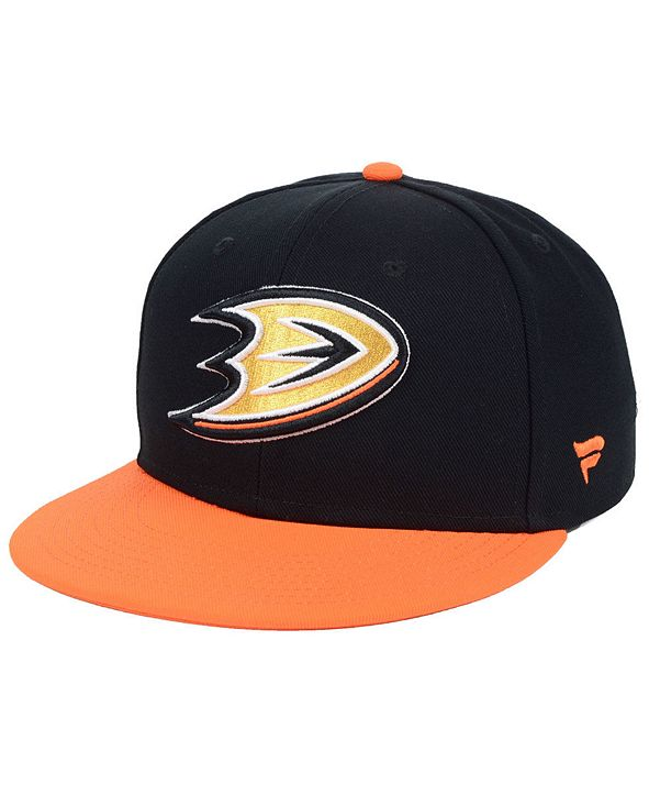 Authentic NHL Headwear Anaheim Ducks Basic Fan Fitted Cap