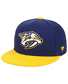 Nashville Predators Basic Fan Fitted Cap