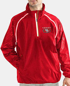G-III Sports Men's San Francisco 49ers Oxygen Player Lightweight Pullover Jacket