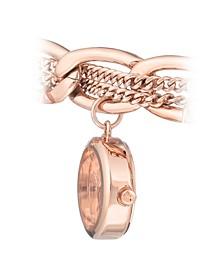 Woman's 1040RGCH Charm Bracelet Watch