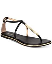 8ead43a6542f Black Flat Sandals  Shop Black Flat Sandals - Macy s