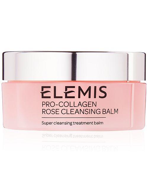 Elemis Pro-Collagen Rose Cleansing Balm, 3.7-oz.