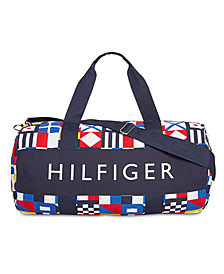Tommy Hilfiger Men's Tradewind HP Colorblocked Logo Duffel Bag, Created for Macy's