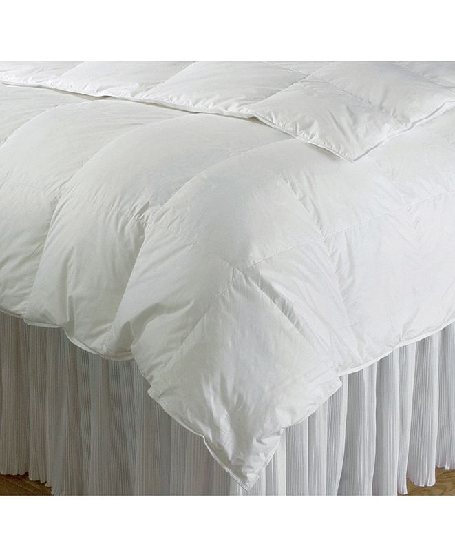 DownTown Company Gold Collection Hungarian White Goose Down Comforter, Twin