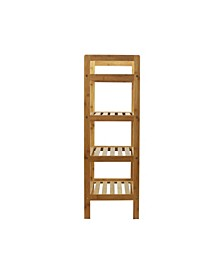 4-Tier Bamboo Shoe Rack