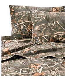 Realtree Max 4 Queen Sheet Set