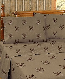 Blue Ridge Trading Whitetail Ridge Queen Sheet Set