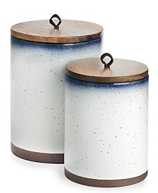 Lucky Brand Dip-Dye Canisters, Set of 2