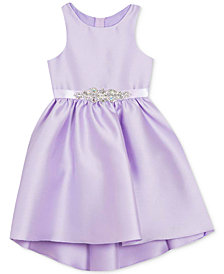 Rare Editions Toddler Girls High-Low Hem Mikado Dress