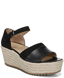 Naturalizer Opal Platform Wedge Sandals