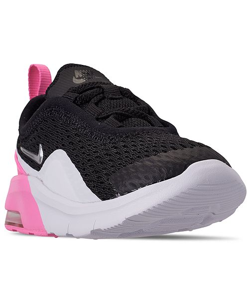 on sale 91d2d 069f9 Nike Toddler Girls  Air Max Motion 2 Casual Sneakers from Finish ...