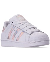 best cheap a6a61 89a7f adidas Girls  Superstar Casual Sneakers from Finish Line