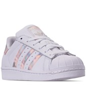 71aa3e7d5be2 adidas Girls  Superstar Casual Sneakers from Finish Line